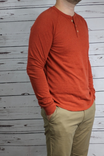 orange henley